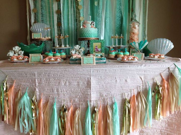 Under the Sea/ Mermaid Birthday Party Ideas | Photo 30 of 55 | Catch My Party