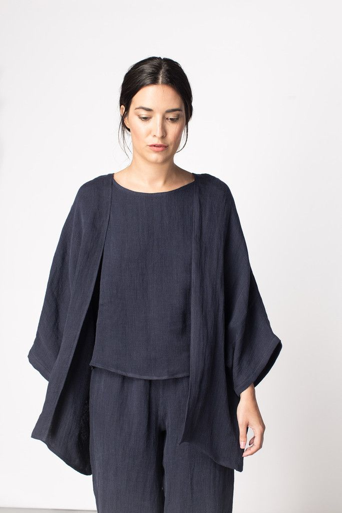 simple kimono cardigan like this for summer layering