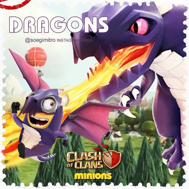 Clash of Clans  Dragon Minions