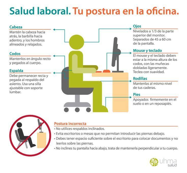 Infografía: Consejos para tu salud laboral