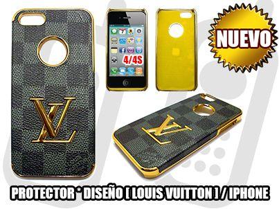 *NUEVO*- PROTECTOR+DISEÑO [LOUIS VUITTON] PARA IPHONE 4,4S / DISEÑO & ORO - SOLO EN MGWIRELESS!!!  https://www.facebook.com/mgwirelesstj