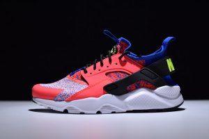 39416eddaec5f Womens Nike Air Huarache Ultra Flyknit ID Pink White Blue Noise 753889 996 Running  Shoes