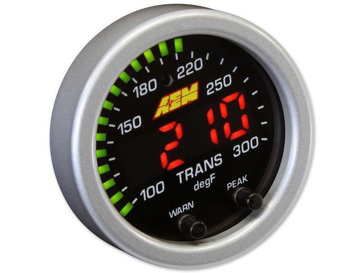 AEM X-Series 100-300F Temperature Gauge Kit