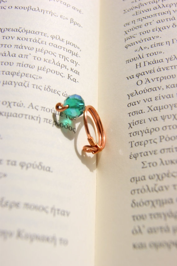 Mycenaean Wire Ring by RenatasArt on Etsy, €7.00