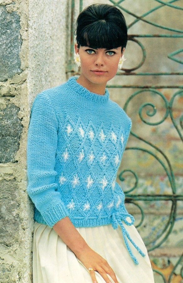 A personal favorite from my Etsy shop https://www.etsy.com/listing/60676939/vintage-1960s-nonchalant-nuance-sweater