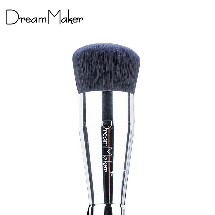 Pennelli trucco Professionale pennello fondazione pennello Piatto Facile Per Beauty Make up w/caso brochas maquillaje