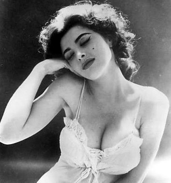 Tina Louise: Beautiful Redhead Ginger '50s Glamorous Portrait Photos in Beginning Days of Her Career