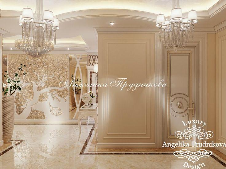 Дизайн проект интерьера квартиры в Классическом стиле с элементами Ар Деко в ЖК Кутузовская Ривьера - фото