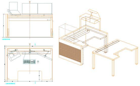 1000 images about designer tips on pinterest bureaus - Bureau d architecte alinea ...