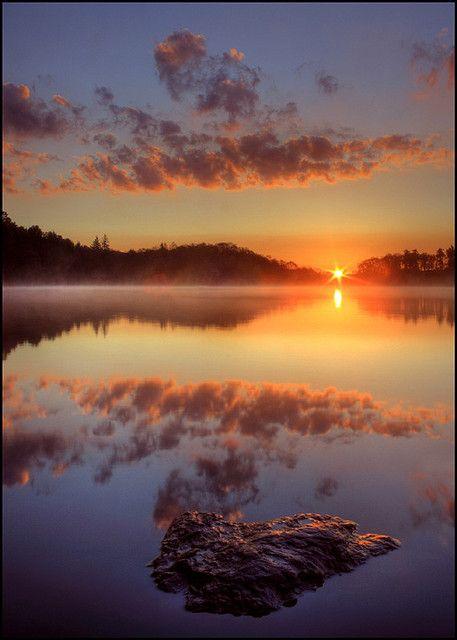 Perthshire Dawn, Loch of Craiglush, Scotland
