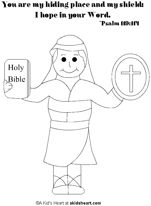 coloring pages for psalm 119 - photo#31