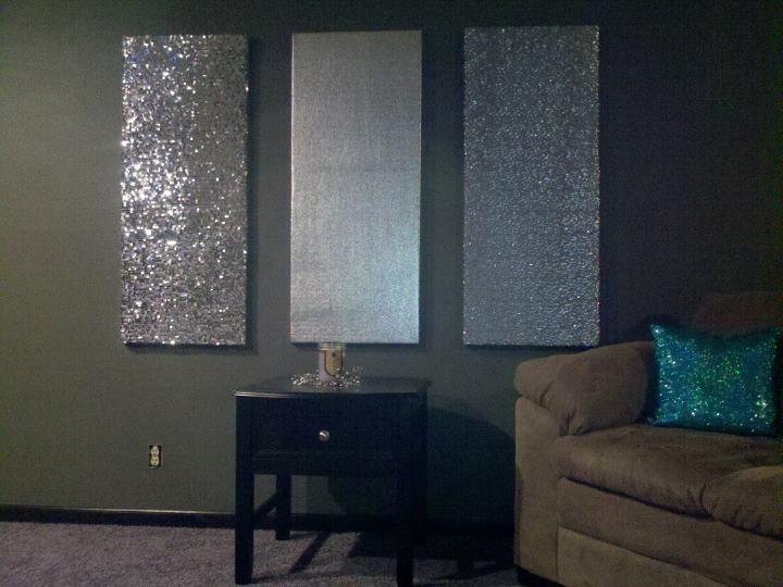 Best 25 Glitter Wall Art Ideas On Pinterest Glitter