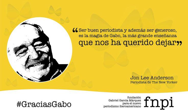 Leer más . . . http://especialgabo.fnpi.org/maestros/un-periodista-generoso/ #GraciasGabo