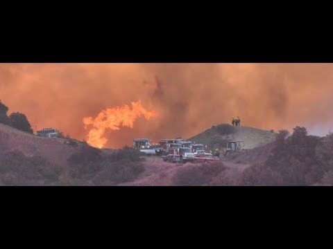 🔥BIBLICAL MASSIVE THOMAS FIRE UPDATE, NOW LARGEST EVER, CAL FIRE NEEDS Y...