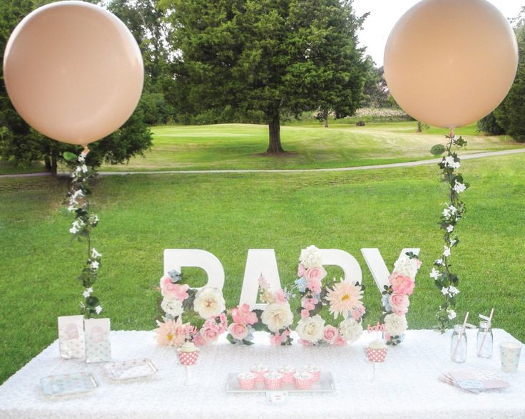 25 best ideas about shabby chic baby shower on pinterest for Baby shower decoration ideas pinterest