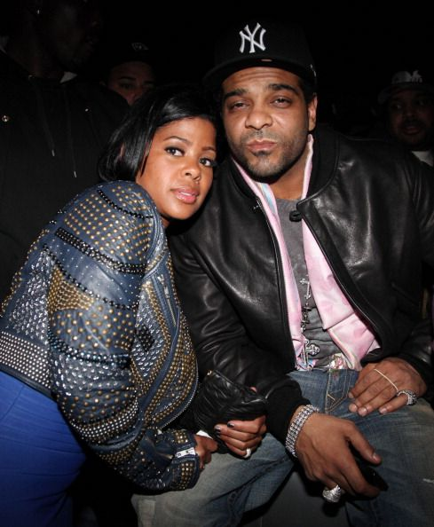 Chrissy Lampkin and rapper Jim Jones