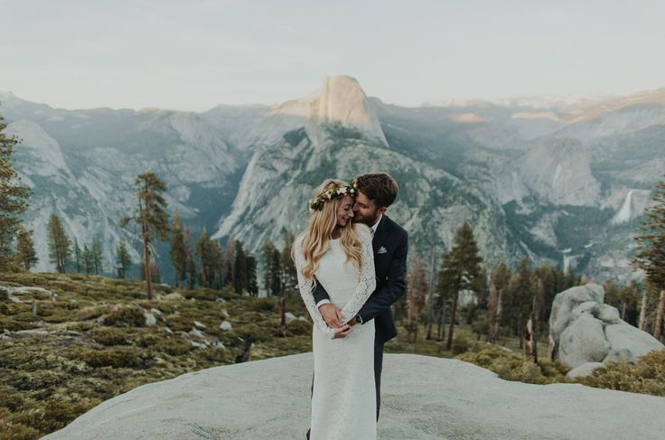 Destination Yosemite elopement