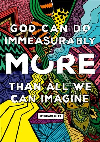 Immeasurably More - Customisable Folded Paper