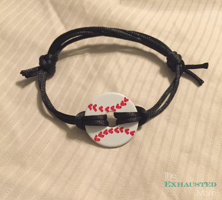 DIY Baseball Washer Necklaces