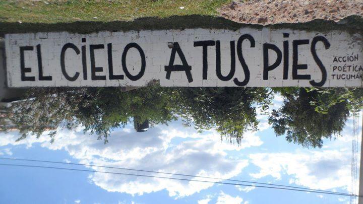carteles # paredes # acción poética # español# www.facebook.com/FraSimaGenesAmancayBijouterie