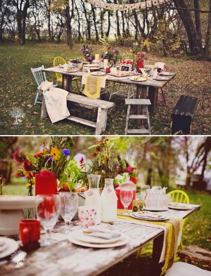 10 Pretty and Unique Thanksgiving Party Themes