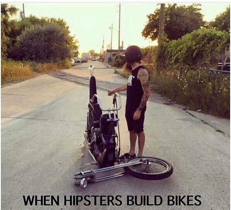 Biuld A Car >> when hipsters build bikes - gearhead meme | Gearhead: Humor/Funny/Memes | Pinterest | Car memes ...