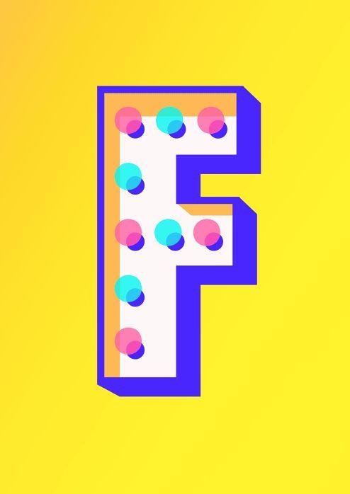 Futura Carnival Cut by Nicolai Boye Brodersen #typography