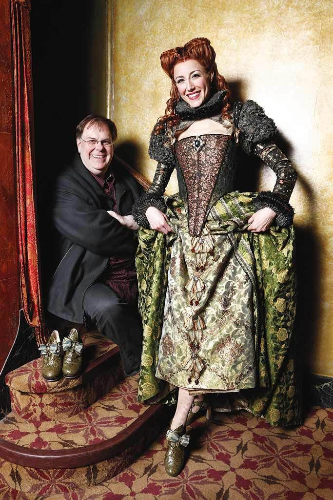 Tony Nominee: Greg Barnes (BFA '83), Best Costume Design of a Musical, Something Rotten