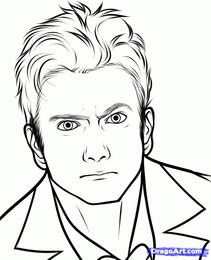 doctor who coloring pages