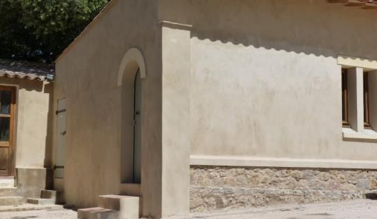 Le béton ciré en extérieur par Ma's : Façades à la chaux