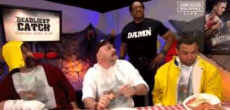 D bomb!    #wrestling  #wwe  #wrestlemania  #mick #foley #santino #ron #simmons  #gif