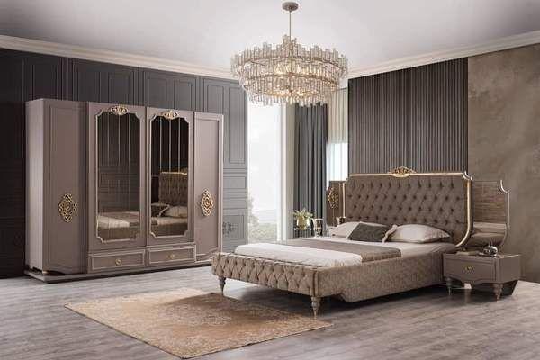 Hurrem In 2020 Luxurious Bedrooms Beige Living Rooms Bedroom Furniture Design