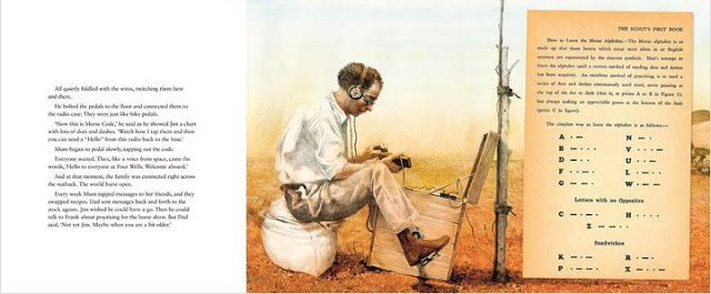 The 'pedal radio' - an invention of Rev John Flynn & Alf Tragaer that opened up communication in the outback