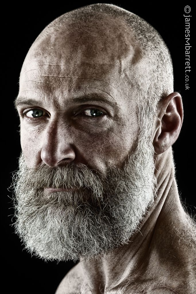 The Beard Realm. There is something about a good beard that makes a man's eyes so much more significant.