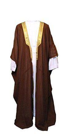 Desert Dress Black Bisht Cloak Arab Dress Thobe Saudi Mens