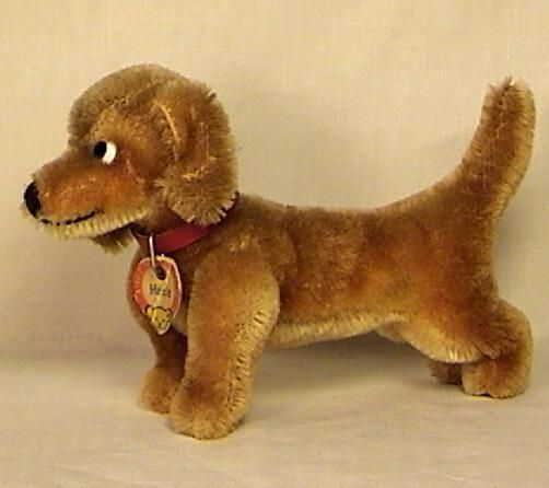 Steiff 'Hexie' Dog Toy