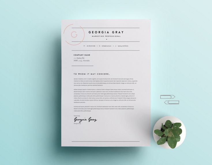 20+ Resume Cover Letter Template Word, EPS, Ai and PSD Format 20 - resume cover letter template word