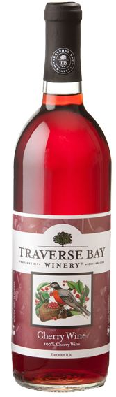 Cherry Wine - Traverse City Cherry Wine - Northern Michigan This all-natural Cherry Wine is made in a sweeter style and is produced from a variety of tart cherries grown in nearby orchards. We cool fermented this wine in stainless steel tanks to capture the delicate fruit qualities, ripe cherry flavors, and beautiful color. Enjoy with barbecued foods, picnic fare or cheese and fruit. Serve slightly chilled for best flavor.