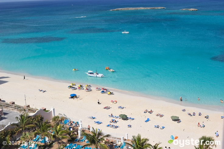 Cabbage Beach on Paradise Island in the Bahamas ~ I was here when this was the Sheraton Grand Hotel. One of the best beaches! The one and only place Ive parasailed.