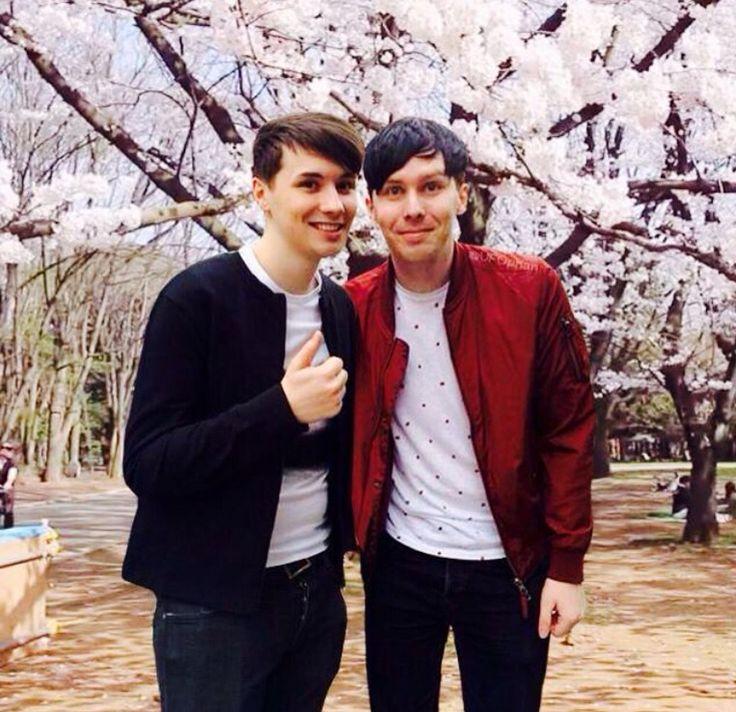 Phil and Dan in Japan