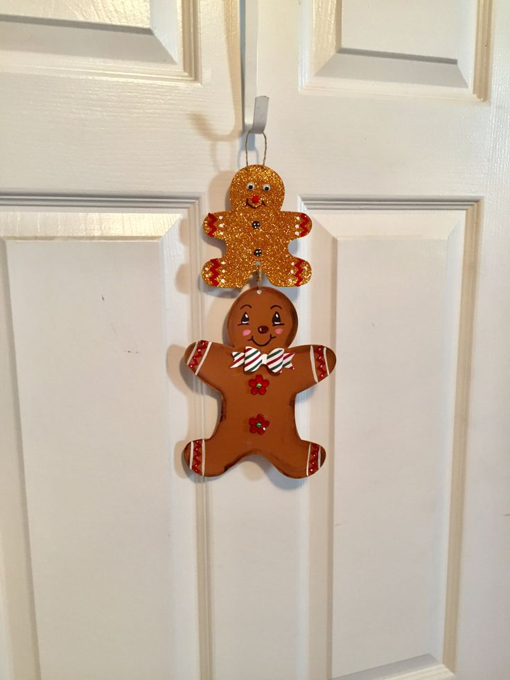 Gingerbread man decor,Gingerbread man wall hanging,Gingerbread man holiday,Christmas Gingerbread man decor,Holiday decor,Christmas decor by Andreaswishcraft on Etsy