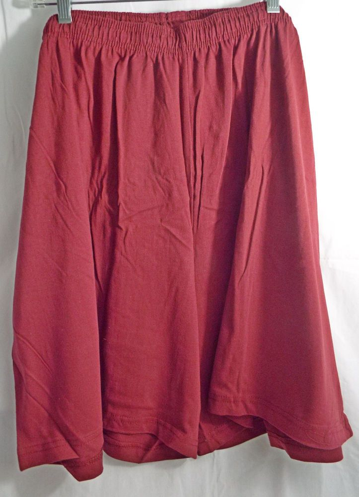 Men's Big & Tall Jersey Knit Activewear Shorts in Burgundy #KingSize #CasualShorts
