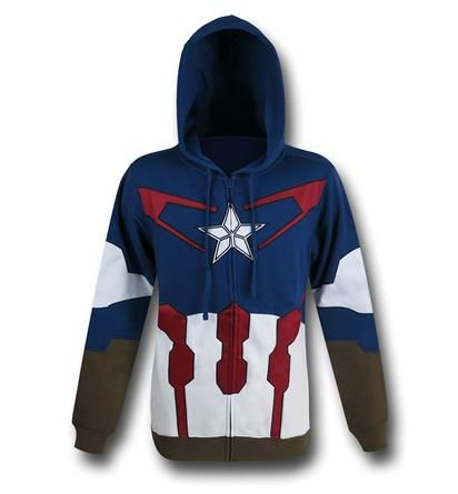 Save $5 on any order over $25 order when you share our page to your favorite social media network.  Discount does not apply to HeroBox Captain America Suit-Up Costume Zip Hoodie