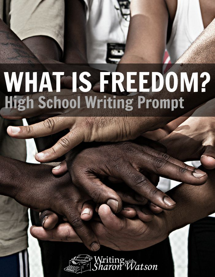 High School Writing Prompt -- At 15, Melba was in danger and not allowed to go out at night. Her definition of freedom is surprising, and now it's your turn to define freedom.