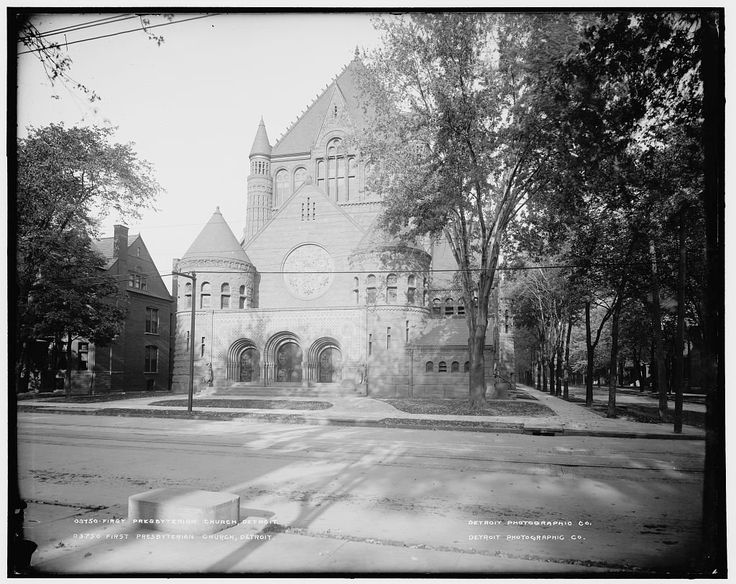THE CHURCH: Right In The Heart Of The City On Woodward, First Presbyterian  Church