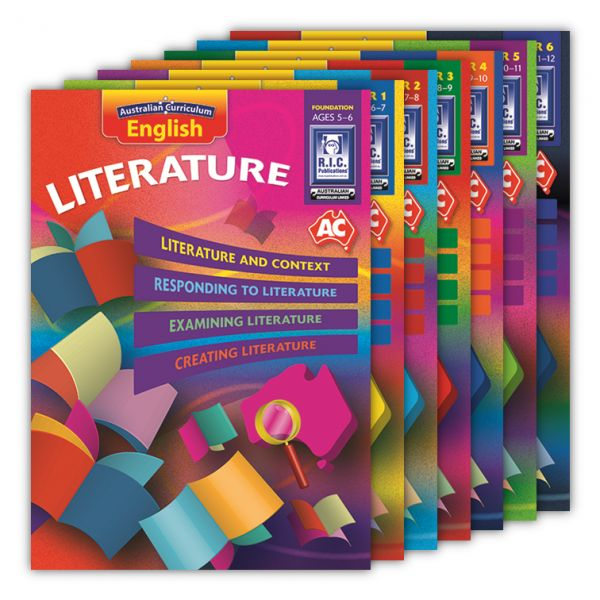 Australian Curriculum English - Literature. Australian Curriculum English - Literature is a series of seven books that provide opportunities for students to read and analyse a variety of text in accordance with the content descriptions of the literature strand of the Australian Curriculum English.