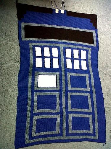 Tardis Blanket Knitting Pattern : 17 Best images about Knitting - Patterns on Pinterest Free pattern, Knit pa...