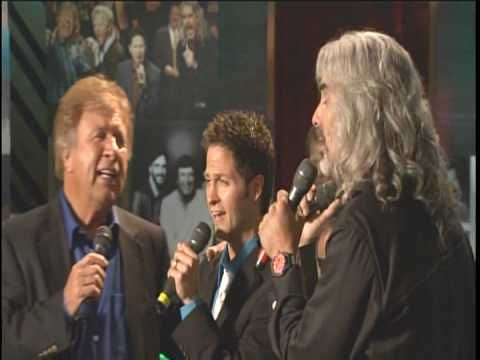 Wes Hampton,Marshall Hall,Guy Penrod and Bill Gaither ~ There Is A River