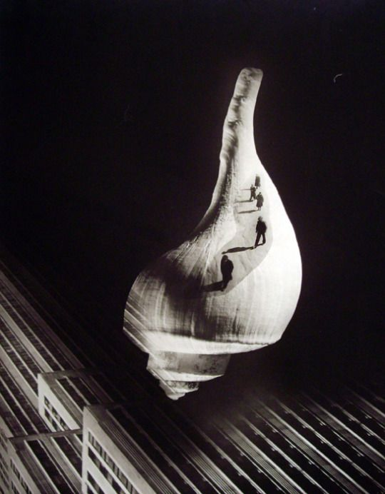 Barbara Morgan 'City Shell' Photomontage, 1938.. Art is not a luxury, it is a necessity.