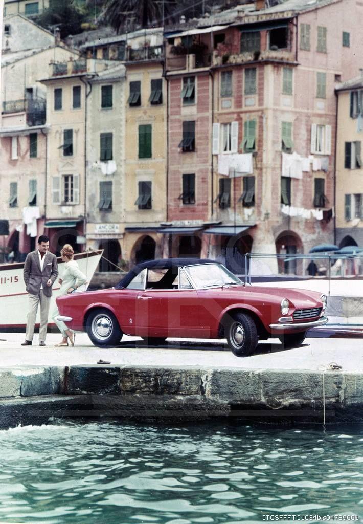 1967 Fiat 124 Sport Spider in Portofino | Credit: Centro Storico Fiat